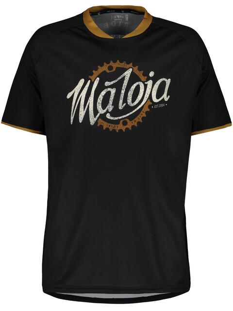 Maloja SchleinsM. Short Sleeve Multisport Jersey Men moonless